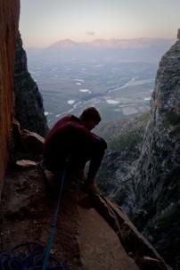 Slanghoek, crag, rock, climbing, A Private Universe, South Africa, trad climbing, Garrreth Bird, Western Cape, Mountains, big wall