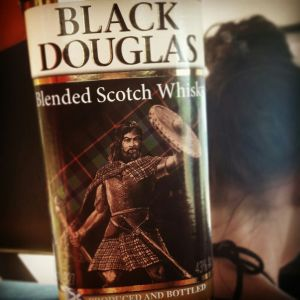 Black Douglas bottle